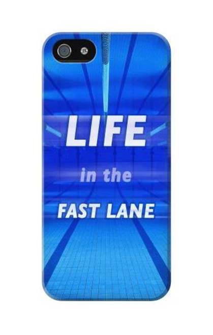 S3136 Life in the Fast Lane Swimming Pool Case For iPhone 5C