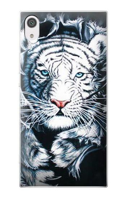 S0265 White Tiger Case For Sony Xperia XA1