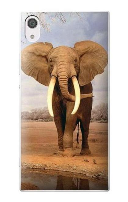 S0310 African Elephant Case For Sony Xperia XA1
