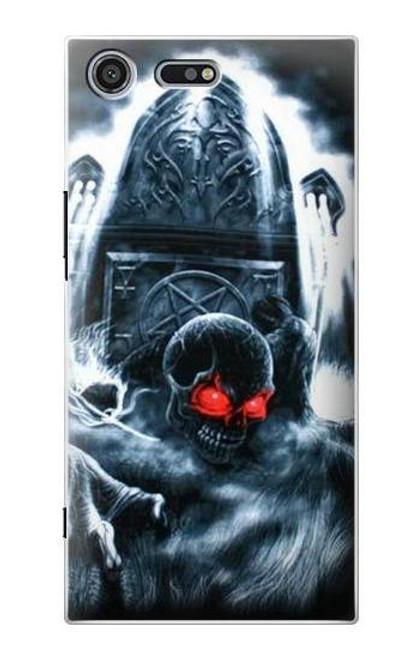 S0297 Zombie Dead Man Case For Sony Xperia XZ Premium