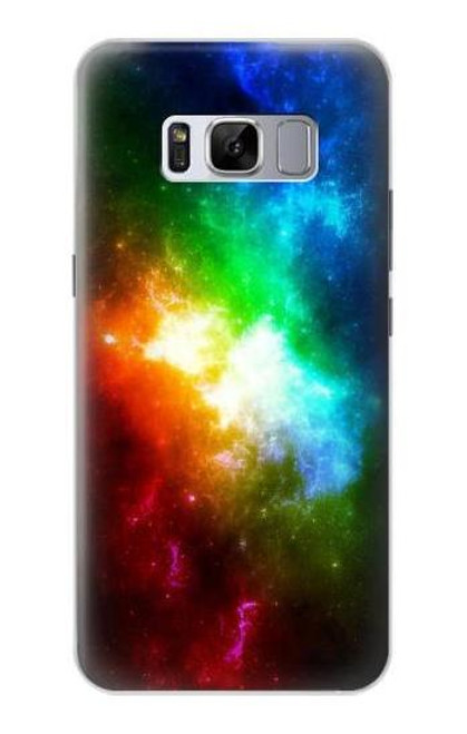 S2312 Colorful Rainbow Space Galaxy Case For Samsung Galaxy S8 Plus