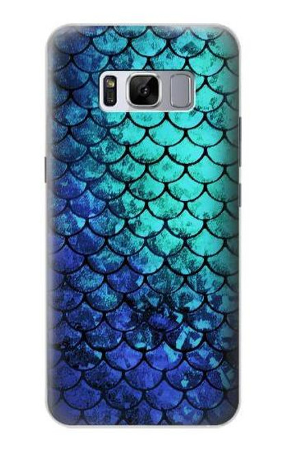 S3047 Green Mermaid Fish Scale Case For Samsung Galaxy S8