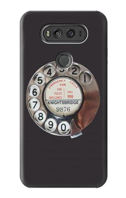 S0059 Retro Rotary Phone Dial On Case For LG V20