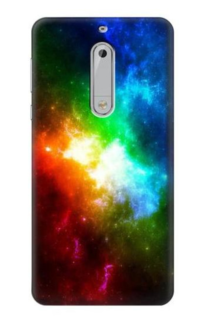 S2312 Colorful Rainbow Space Galaxy Case For Nokia 5