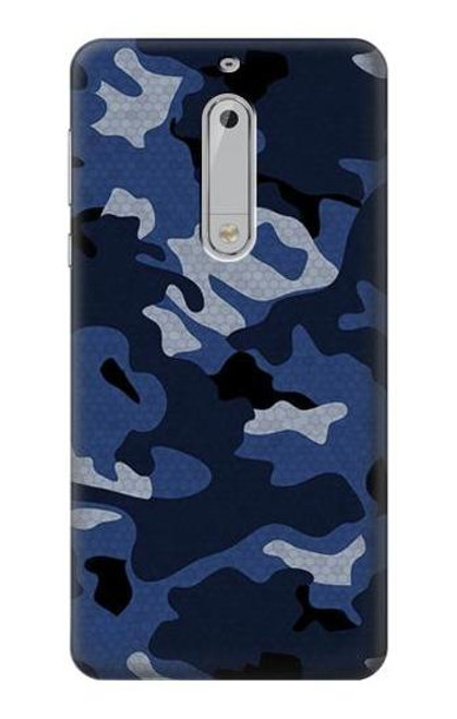S2959 Navy Blue Camo Camouflage Case For Nokia 5