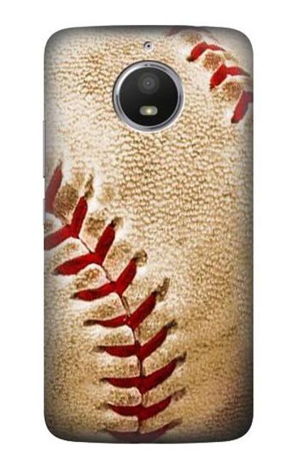 S0064 Baseball Case For Motorola Moto E4 Plus