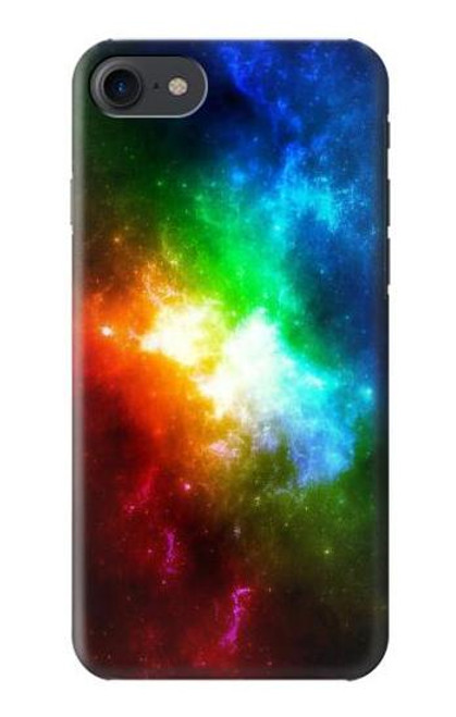 S2312 Colorful Rainbow Space Galaxy Case For iPhone 7, iPhone 8
