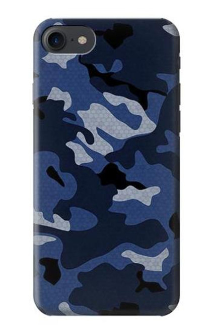 S2959 Navy Blue Camo Camouflage Case For iPhone 7, iPhone 8