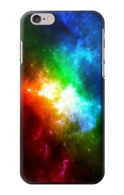 S2312 Colorful Rainbow Space Galaxy Case For iPhone 6 6S