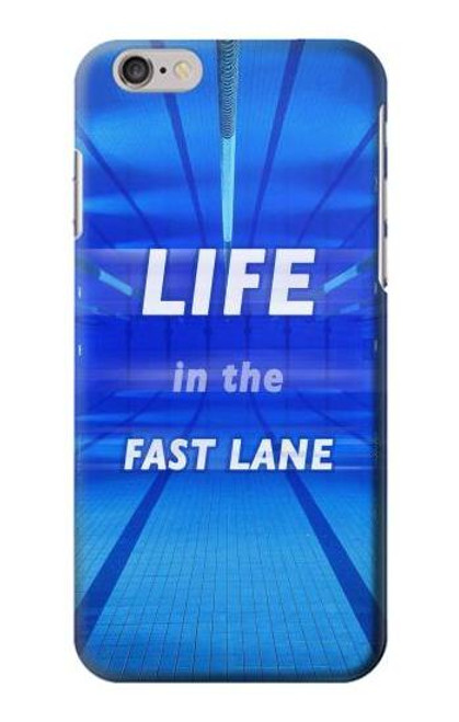 S3136 Life in the Fast Lane Swimming Pool Case For iPhone 6 6S