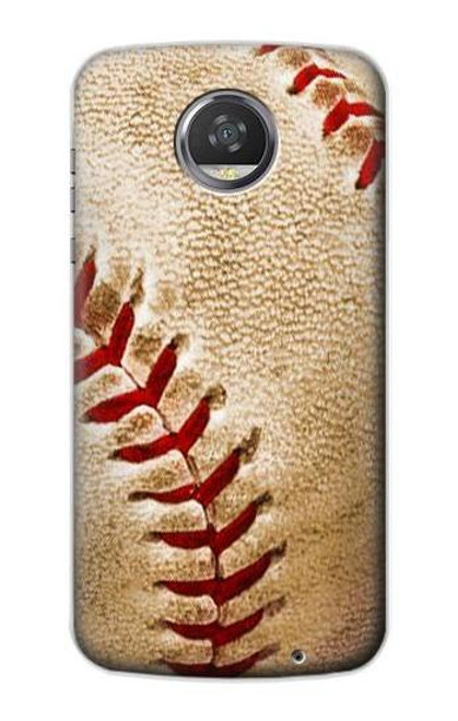 S0064 Baseball Case For Motorola Moto Z2 Play, Z2 Force