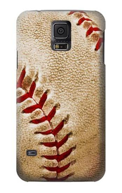 S0064 Baseball Case For Samsung Galaxy S5