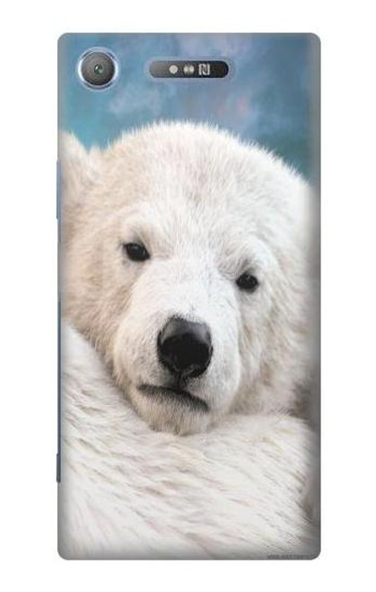 S0284 Polar Bear Case For Sony Xperia XZ1