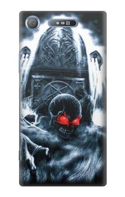 S0297 Zombie Dead Man Case For Sony Xperia XZ1