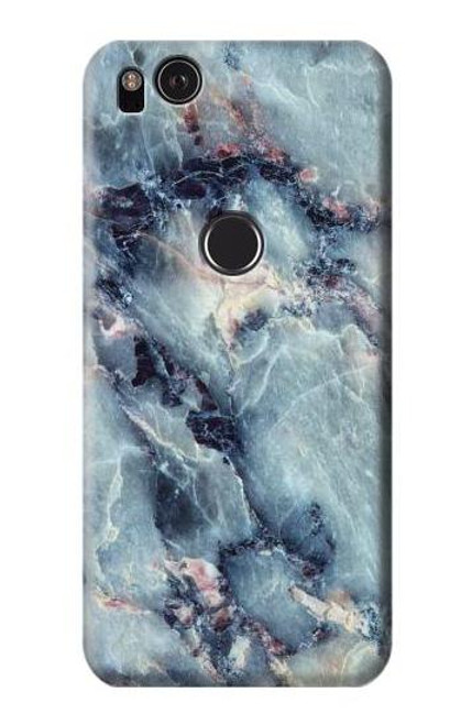 S2689 Blue Marble Texture Graphic Printed Case For Google Pixel 2