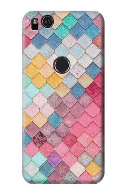 S2947 Candy Minimal Pastel Colors Case For Google Pixel 2