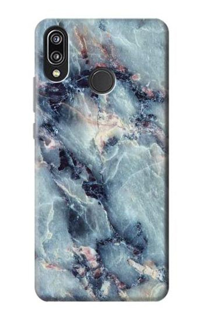 S2689 Blue Marble Texture Graphic Printed Case For Huawei P20 Lite