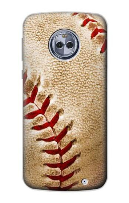 S0064 Baseball Case For Motorola Moto X4