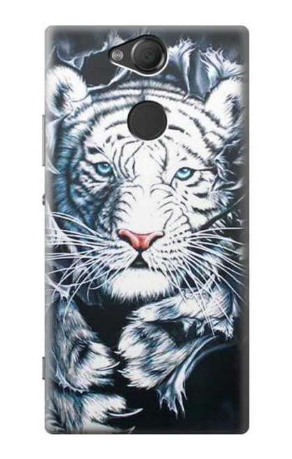 S0265 White Tiger Case For Sony Xperia XA2