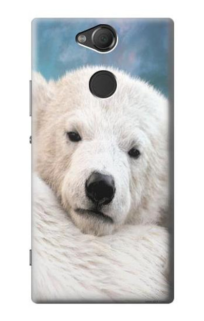 S0284 Polar Bear Case For Sony Xperia XA2