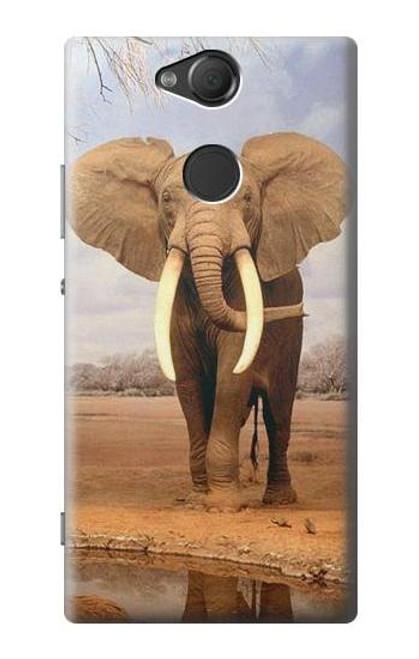 S0310 African Elephant Case For Sony Xperia XA2