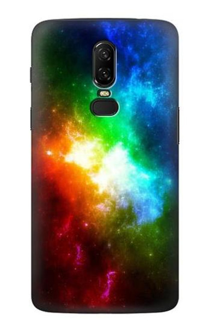 S2312 Colorful Rainbow Space Galaxy Case For OnePlus 6