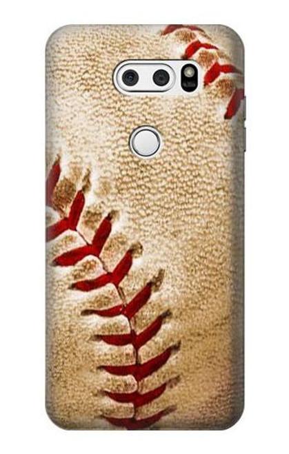 S0064 Baseball Case For LG V30, LG V30 Plus, LG V30S ThinQ, LG V35, LG V35 ThinQ