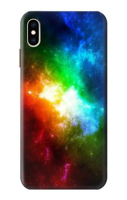 S2312 Colorful Rainbow Space Galaxy Case For iPhone XS Max