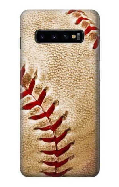 S0064 Baseball Case For Samsung Galaxy S10 Plus