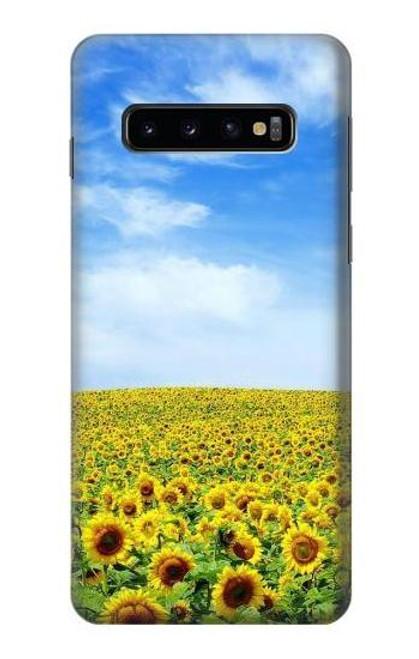 S0232 Sunflower Case For Samsung Galaxy S10