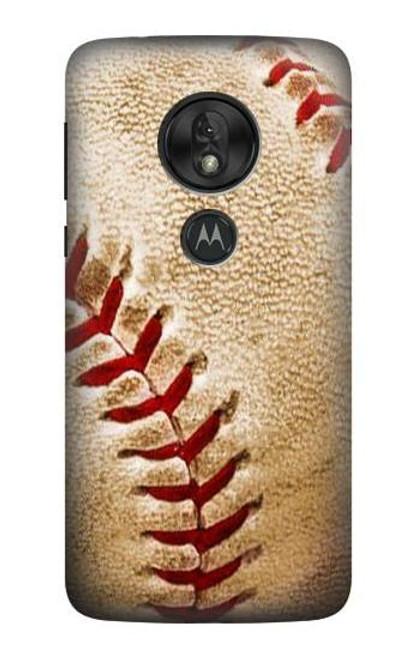 S0064 Baseball Case For Motorola Moto G7 Power