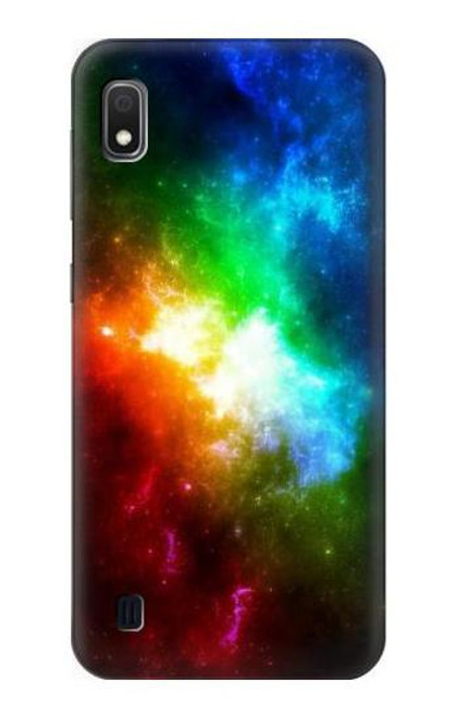 S2312 Colorful Rainbow Space Galaxy Case For Samsung Galaxy A10