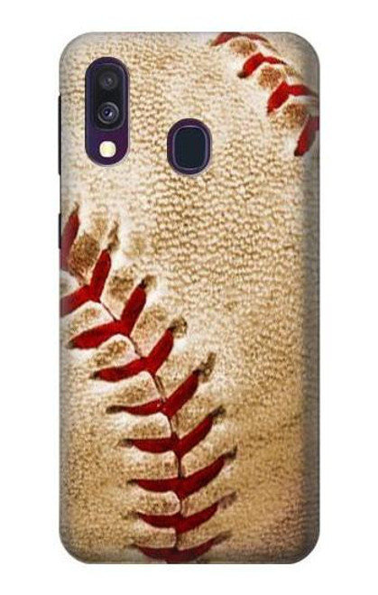S0064 Baseball Case For Samsung Galaxy A40