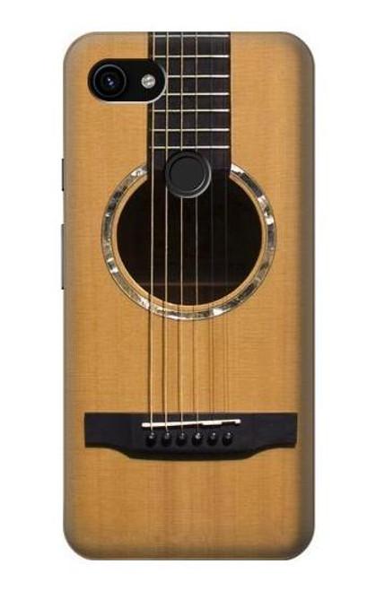 S0057 Acoustic Guitar Case For Google Pixel 3a XL