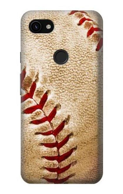 S0064 Baseball Case For Google Pixel 3a XL