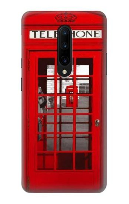 S0058 British Red Telephone Box Case For OnePlus 7 Pro