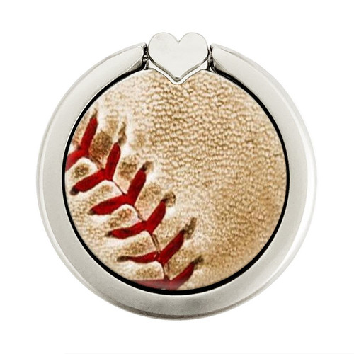 S0064 Baseball Graphic Ring Holder and Pop Up Grip