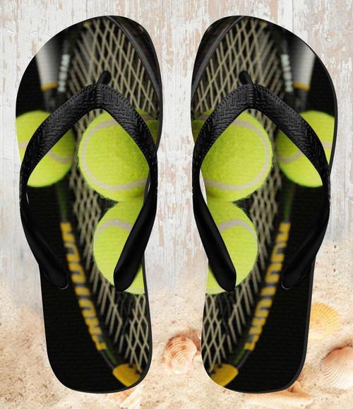 FA0009 Tennis Beach Slippers Sandals Flip Flops Unisex