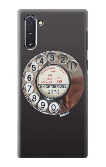 S0059 Retro Rotary Phone Dial On Case For Samsung Galaxy Note 10