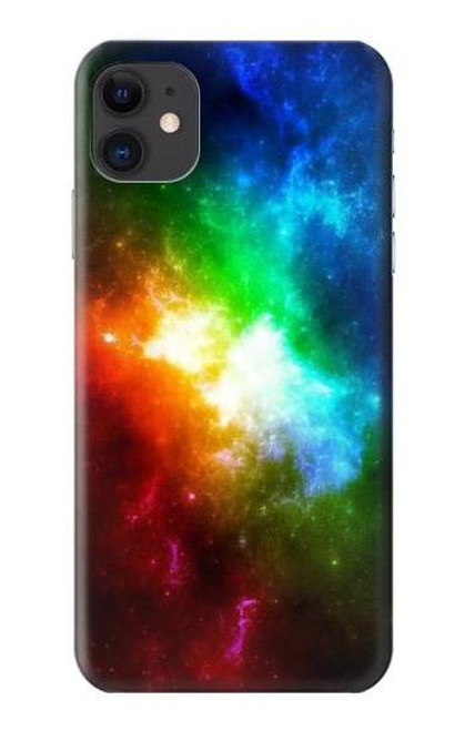 S2312 Colorful Rainbow Space Galaxy Case For iPhone 11