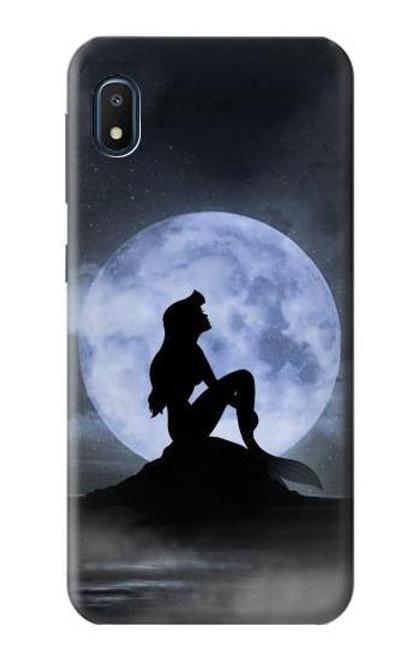 S2668 Mermaid Silhouette Moon Night Case For Samsung Galaxy A10e