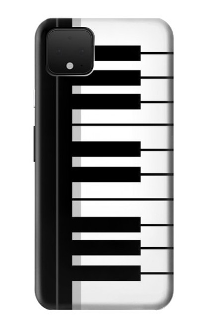 S3078 Black and White Piano Keyboard Case For Google Pixel 4