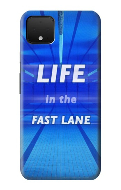 S3136 Life in the Fast Lane Swimming Pool Case For Google Pixel 4