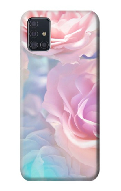 S3050 Vintage Pastel Flowers Case For Samsung Galaxy A51
