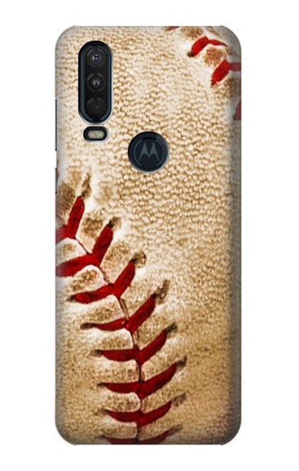S0064 Baseball Case For Motorola One Action (Moto P40 Power)
