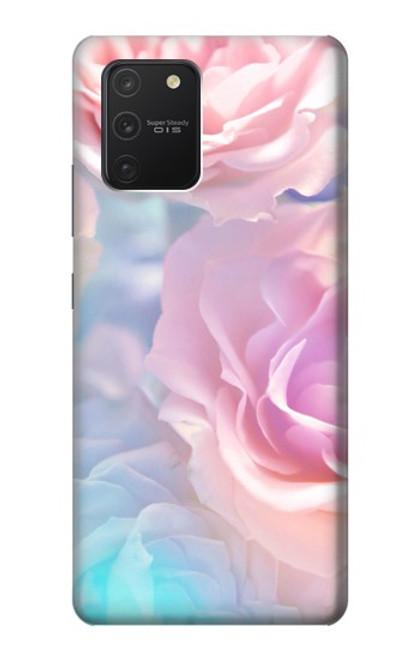 S3050 Vintage Pastel Flowers Case For Samsung Galaxy S10 Lite