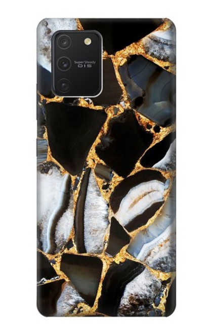 S3419 Gold Marble Graphic Print Case For Samsung Galaxy S10 Lite