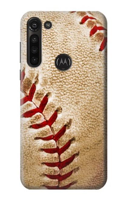 S0064 Baseball Case For Motorola Moto G8 Power