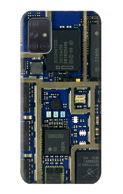 S0063 Curcuid Board Case For Samsung Galaxy A71 5G