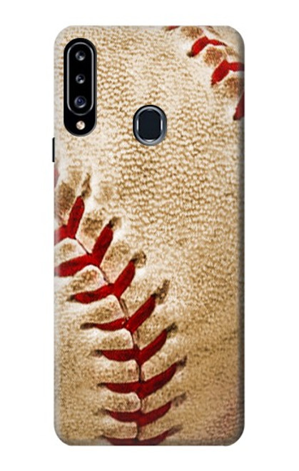 S0064 Baseball Case For Samsung Galaxy A20s